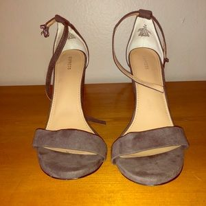Size 10 Suede; Express High Heels